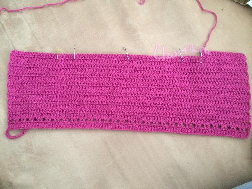 Вязание жилетки крючком